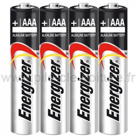 4 Piles AAA - LR03 - Alcalines 1.5V - Energizer Ultra +